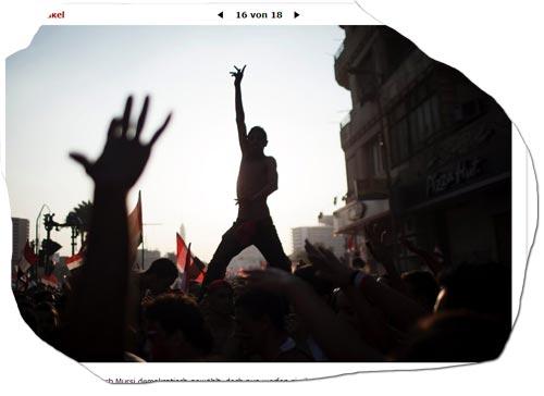 Bilder hinterfragt: Ägypten und der Sturz Mursis